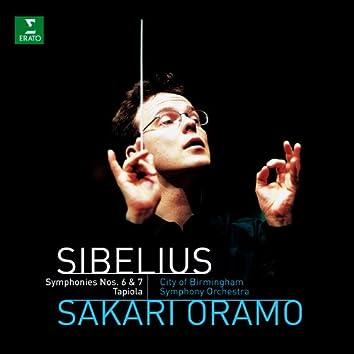 Sibelius : Symphonies 6, 7 & Tapiola