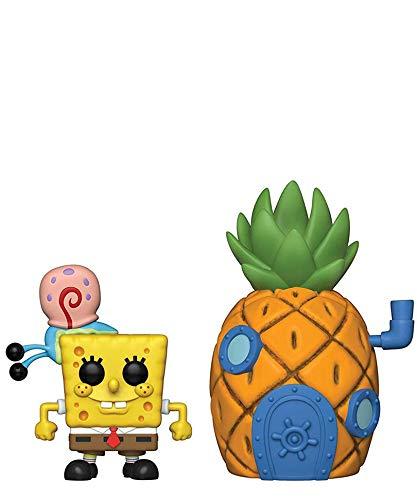 Funko Pop! Animation – Figura de Bob Esponja con Gary & Pineapple House #02 Vinyl Figure 10 cm Released 2019
