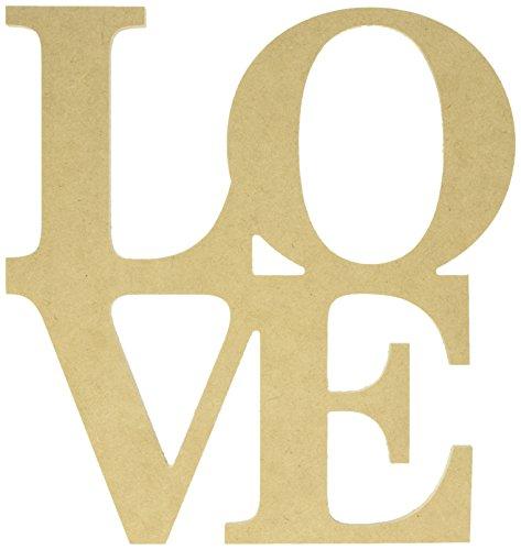 Kaisercraft lijm voorbij de pagina MDF liefde monoloog