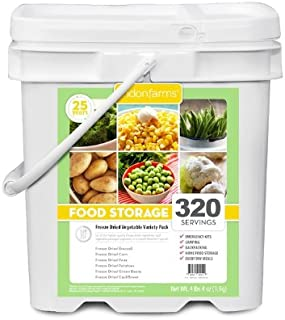 Lindon Farms Mixed Freeze Dried Vegetables (320 Servings)