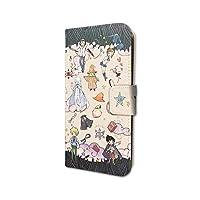 ムヒョとロージーの魔法律相談事務所 01 ライトベージュ(グラフアートデザイン) 手帳型スマホケース iPhone6/6S/7/8兼用
