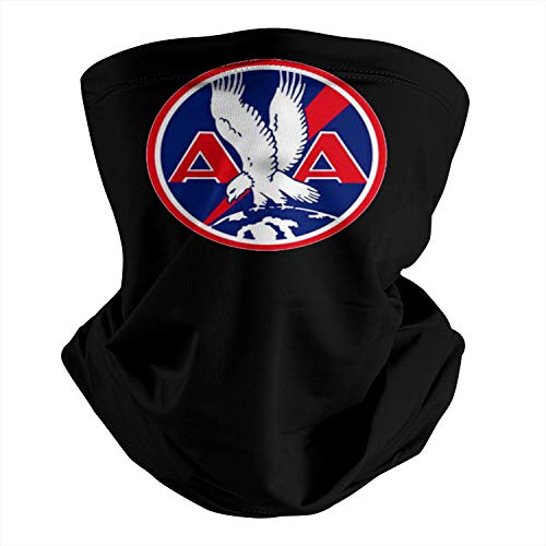 American-Airlines-1934- Multifunctional Bandana Face Mask Half Mask Scarf Neck Warmer for Motorcycle Sport