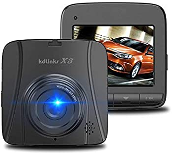 Kdlinks X3 2.7K Super HD Car DVR Vehicle Dash Cam