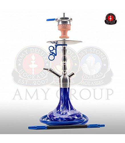 AMY Little Hammer SS10 blue | Edelstahl Shisha Wasserpfeife Hookah