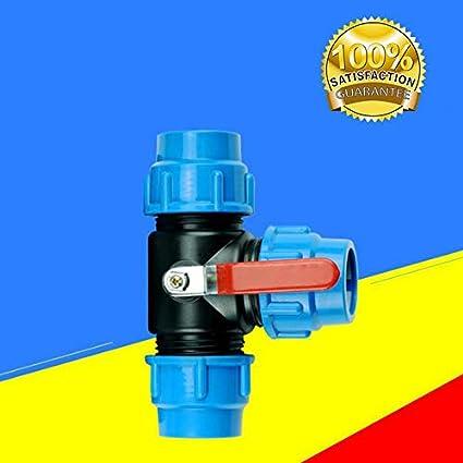 MDPE Raccord de compression pour tube en T 32 mm//40 mm