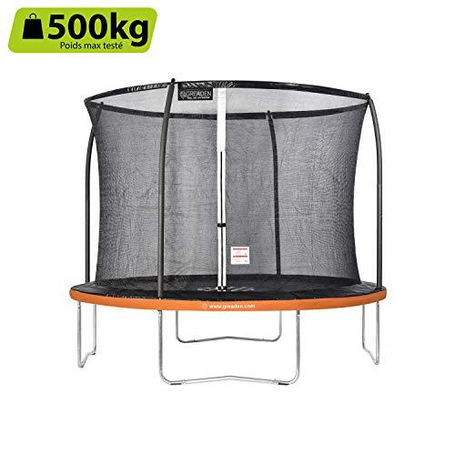 GREADEN Freestyle Round Garden Trampoline Set Complet (10FT)