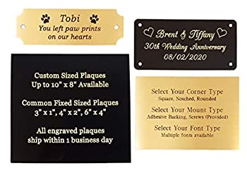 Best personalized plaques Reviews