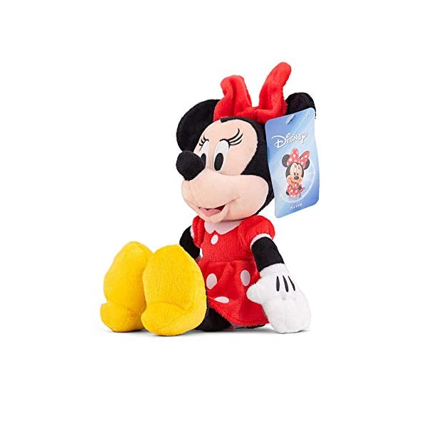 "Disney Minnie Mouse Red 11"" Beans Plush w hangtag 4"