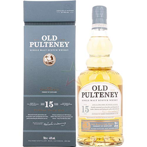 Old Pulteney 15 Years Old Single Malt Scotch Whisky (1 x 0.7 l)