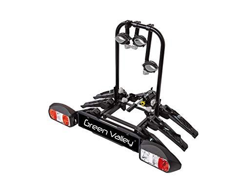 Aurilis Fahrradträger Ride Simple E-Bike Heckträger 3 Räder kleines Faltmaß AHK Fahrradheckträger Fahrrad Träger