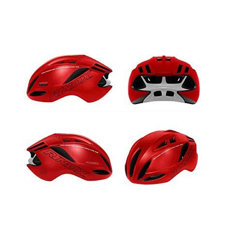 RAPG Casco de Bicicleta para Adultos Casco de Bicicleta de Carreras Neumática Casco de Bicicleta de Carretera Unisex Y Casco de Bicicleta de Montaña para TT Triatlón de Prueba Patinaje