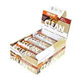 Ready CLEAN Bar, 15g of Protein, 7g Fiber, 6.5g of Whole Grains, NON-GMO, Chocolate Peanut Butter, 1.83 Ounces, 12-Pack