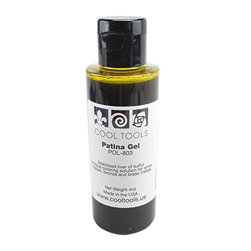 Cool Tools - Patina Gel - Stabilized Liver of Sulfur - 4 Oz