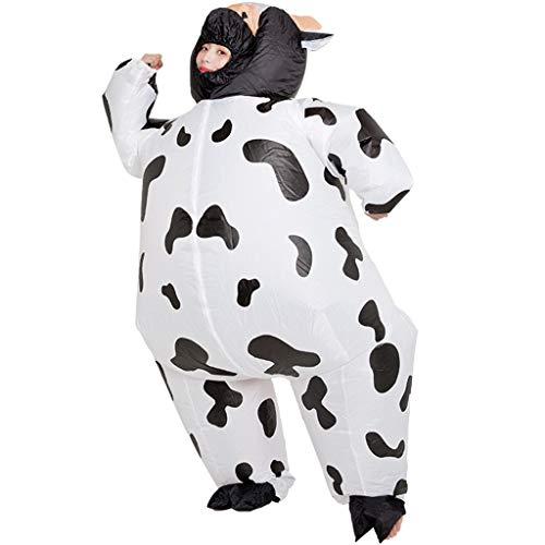 Henan Niedliche Cartoon-Kuh Halloween Erwachsene Cosplay Aufblasbarer Anzug Festliche Party Kleidung