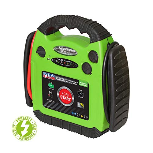 Sealey RS1312HV RoadStart Emergency Power Pack 12V 900 Peak...