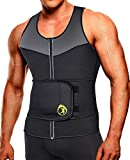 SEXYWG Chaleco Trajes De Sudoración Hombre Termica Reductoras Fajas Deportivas Neopreno Sauna Camiseta para Fitness
