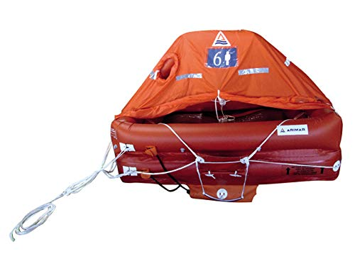 Rettungsinsel Sea World 4 Pers Tasche