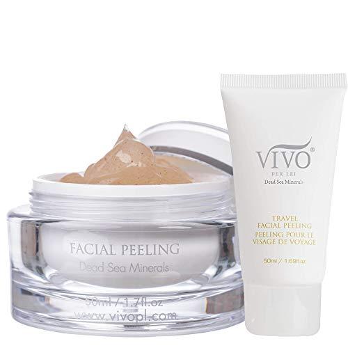 Vivo Per Lei Facial Peeling Gel - Contains Dead Sea Minerals and Nut...