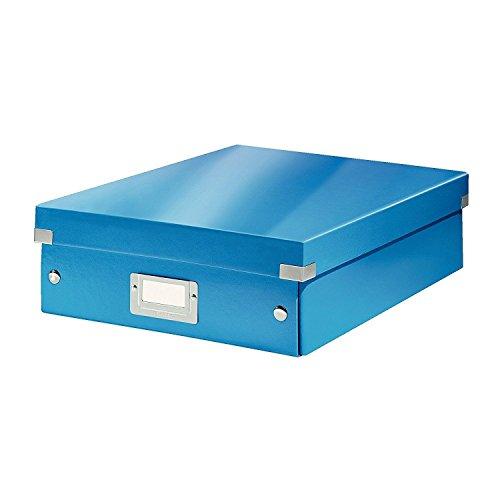 Leitz, Mittelgroße Organisationsbox, Blau, Click & Store, 60580036