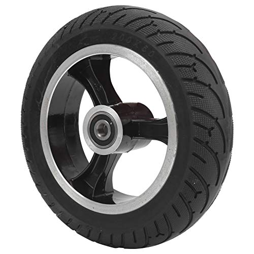 Rueda sólida para Scooter eléctrico de 8 Pulgadas, Pieza de Repuesto de neumático no neumático para Scooter eléctrico Delantero de 200x50