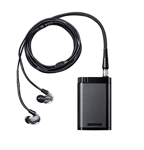 Shure KSE1200SYS-EFS Elektrostatisches Ohrhörersystem mit Verstärker zur Verwendung, tragbaren Mediaplayer, One Size