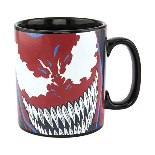 Taza de cambio de calor Venom – grande 550 ml (18 onzas) – Producto oficial de Disney Marvel PP6602MC