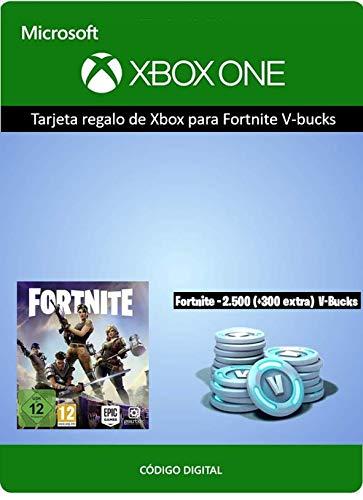 Tarjeta regalo Xbox Fortnite 2800 V-Bucks | Xbox One