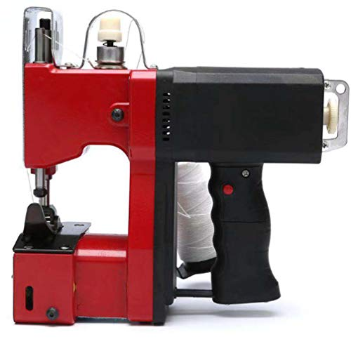 DSGYZQ Tragbare Elektrische Nähmaschine Tragbare Hochgeschwindigkeitsdichtmaschine Industrielle Verpackungsmaschine Ballenpresse Für Gewebtes Beutel Reisbeutel Plastiktasche Papier Tasche
