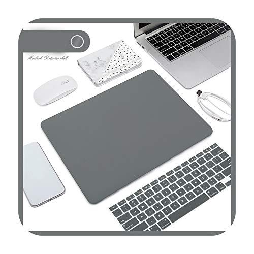 Matte Frosted Laptop Case + Laptop Keyboard Film for MacBook Air 13 2020 Retina Pro 13 15 A2159 MacBook Pro 16 A2141-J-15.4Pro Retina A1398