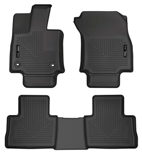 Husky Liners Fits 2019-20 Toyota RAV4 Weatherbeater Front & 2nd Seat...