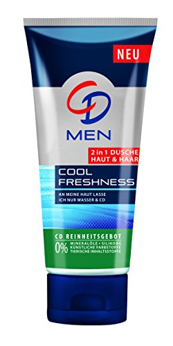 CD Men 2in1 Dusche Haut & Haar Cool Freshness, 4er Pack (4 x 200 ml)