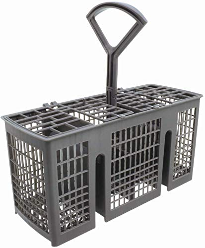 Invero Universal Slimline Dishwasher Cutlery Basket ideal for Carrera Eurotech, Homark, Lendi, Powerpoint, Servis, Baumatic, Bosch, Neff, Siemens, Tecnik and more (22.7cm x 11.8cm x 9.5cm)