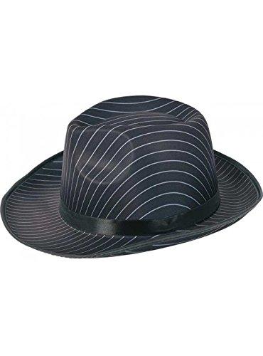 Gorra de Borsalino raya negra y blanca  AdulLTE