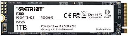 Patriot P300 M 2 Pcie Gen 3 X4 512gb Low Power Ssd Computers Accessories