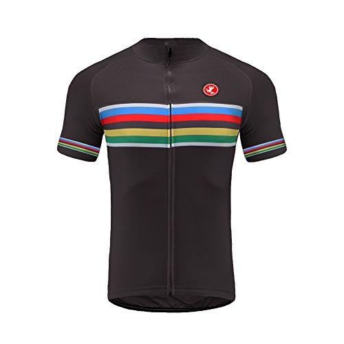 Uglyfrog Bike Wear De Manga Corto Hombre Cycling Jersey