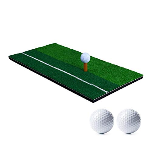 Esterilla portátil para práctica de golf 60 x 30 cm, Alfombrilla de...