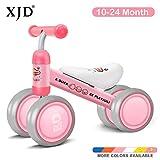 XJD Bicicleta Sin Pedales para Niños Juguetes de Bebé para Aprender a Caminar para Baby (10-24 Meses) el Primer Regalo de Cumpleaños de su Bebé en Bicicleta (Pato Rosa)
