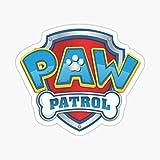 paw Patrol Logo Sticker - Sticker Graphic - Auto, Wall, Laptop, Cell, Truck Sticker for Windows, Cars, Trucks