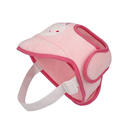 Baby Schutzhelm, Kopfschutz Atmungsaktiv Sicherheit Anti-Kollision Kopfschutzmütze, Schutzkappe Geschirre Hut für Kleinkind Lernen Laufen und Sitzen, Blau