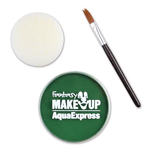 KREUL Fantasy Aqua Make Up Express, grün, 1er Pack (1 x 15 g)