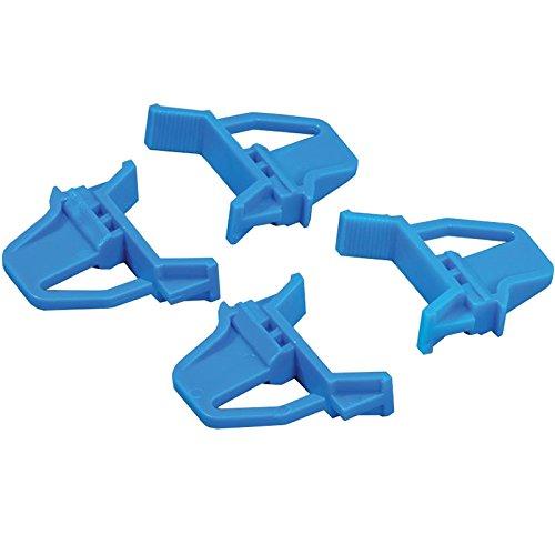 Preisvergleich Produktbild Allit 456780 Schiebeschnappverschluss für Eurobox 4 Stück in blau
