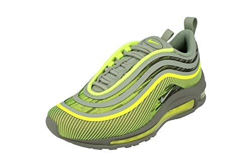 Nike Air MAX 97 Ul 17 (GS), Zapatillas de Running para Niños, Multicolor (Volt/Mica Green/Cool Grey 700), 37.5 EU