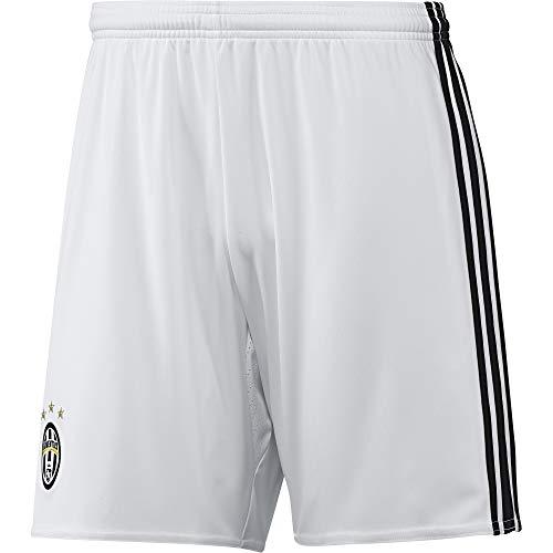 adidas Juve 3 SHO 3 Kit Juventus FC 2015/16, Pantaloncini Uomo, Bianco/Nero (Blanco/Negro), L