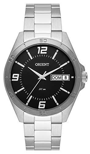 Relógio Orient Masculino Ref: Mbss2026 P2sx Social Prateado