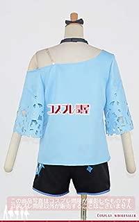 高完成度 キングスレイド(キンスレ)★パベル バカンス 髪リボン付き☆コスプレ衣装