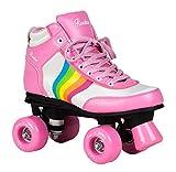 Rookie Rollerskates Forever Rainbow RKE-SKA Pink Multi Gr. 39,5 (UK 6)