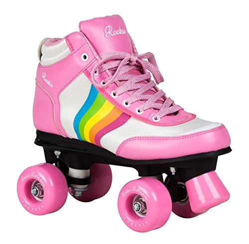 Rookie Rollerskates Forever Rainbow RKE-SKA Pink Multi Gr. 37 (UK 4,5)