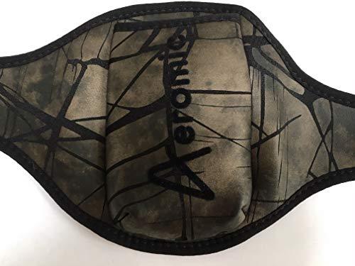 Aeromic Cinturón para micrófono Shattered Glass edición Limitada - Negro