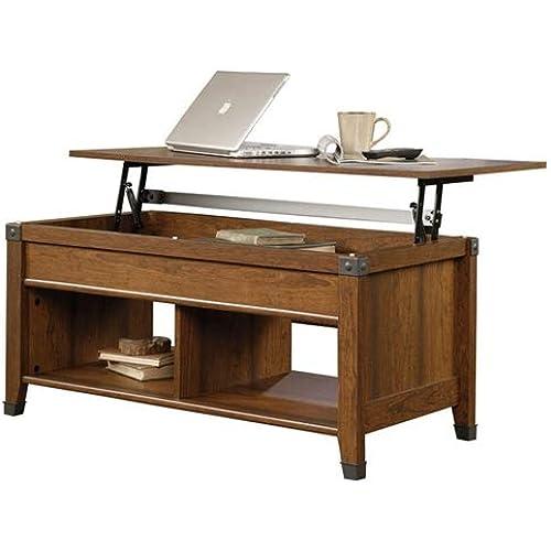 Amazon Com Beautiful Lift Top Coffee Table Cherry Wood Kitchen Dining