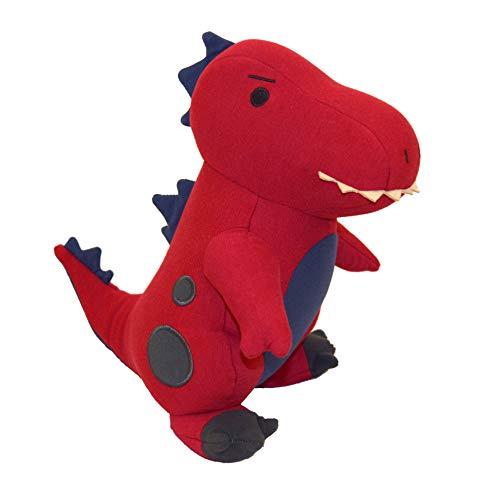 Yogibo Mates Stuffed Animals, Huggable Cute Plush Toys for Kids, A Soft Huggable Friend, Sensory Toy with Soft Mini Bean Fill, T-Rex